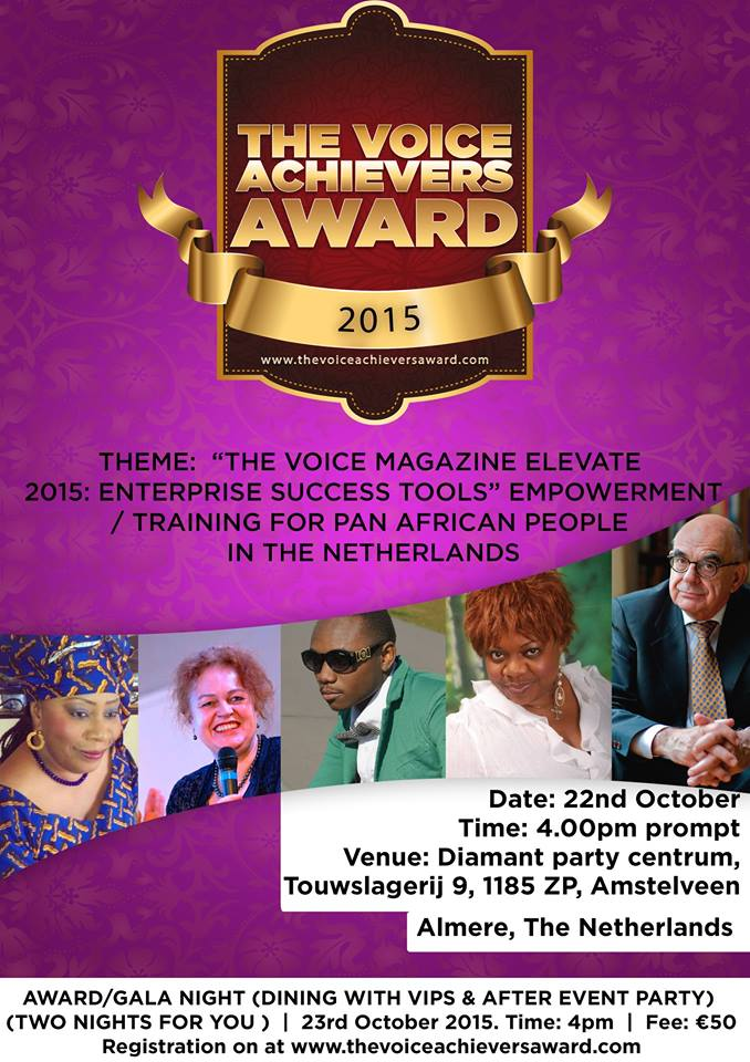 THE VOICE ACHIEVERS AWARD: Outstanding Motivational Speaker