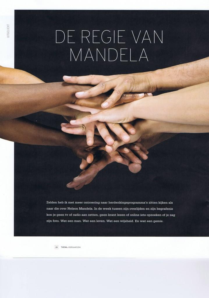 DE REGIE VAN MANDELA door Monique Lindzen