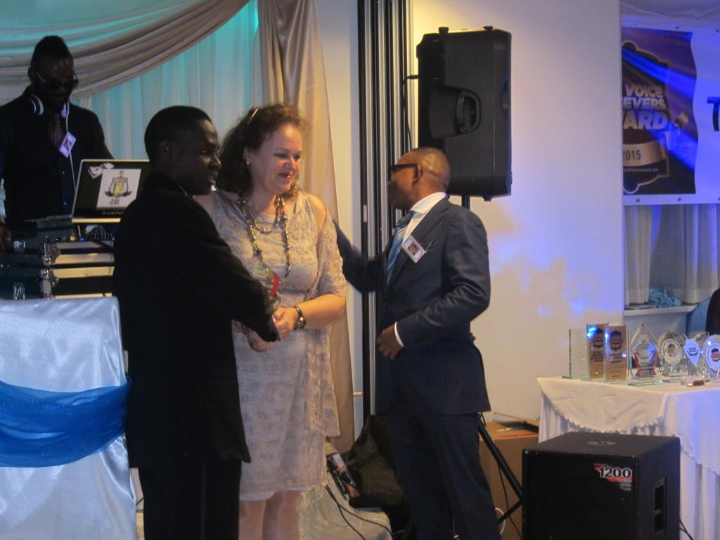 Winner of The Voice Achievers Award: Outstanding Motivational Speaker